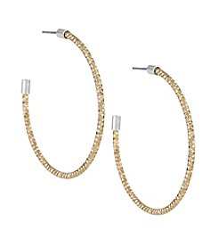The Sak® Large Texture Hoop Earrings
