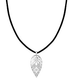 The Sak® Pierced Teardrop Pendant Necklace