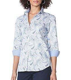 Chaps® Paisley Sateen Shirt