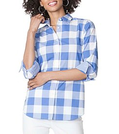 Chaps® Gingham Broadcloth Shirt