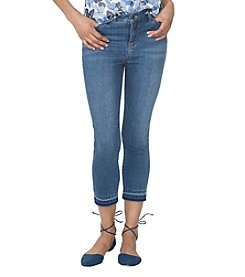 Chaps® Stretch-Denim Capri Pants