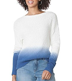 Chaps® Ombre Cotton Sweater