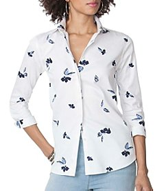 Chaps® Pattern Sateen Shirt