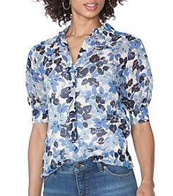 Chaps® Floral Shirt