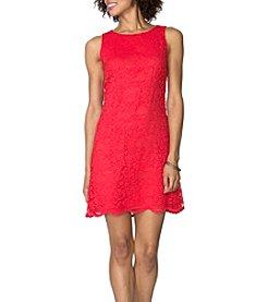 Chaps® Lace Matte Jersey Dress