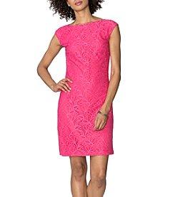 Chaps® Lace Dress