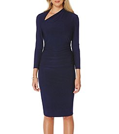 Laundry by Shelli Segal® Asymmetrical Sheath Dress