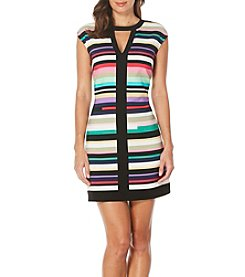 Laundry by Shelli Segal® Striped Shirt Dress