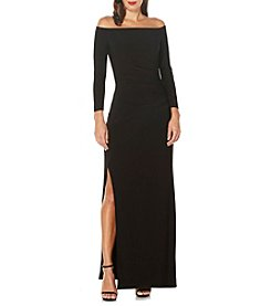 Laundry by Shelli Segal® Off-Shoulder Gown