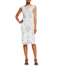 Adrianna Papell® Beaded Floral Dress
