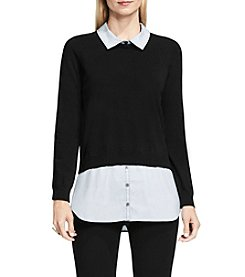 Vince Camuto® Mixed Media Sweater
