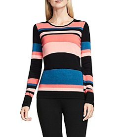 Vince Camuto® Multi Stripe Sweater