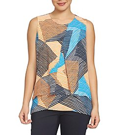 Chaus Abstract Printed Blouse