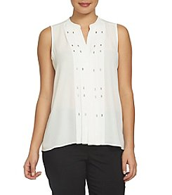 Chaus Pleated Blouse