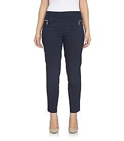 Chaus Zipper Pocket Pants