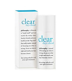 philosophy® Clear Days Ahead Oil Free Salicylic Acid Acne Spot Treatment 0.5 oz.