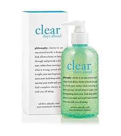 philosophy® Clear Days Ahead Oil Free Salicylic Acid Acne Treatment Cleanser