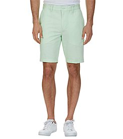Nautica® Men's Flat Front Slim Shorts