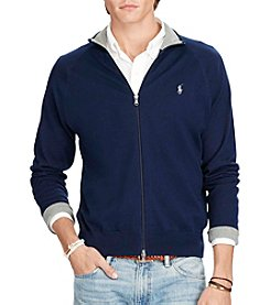 Polo Ralph Lauren® Men's Long Sleeve Full-Zip Sweater