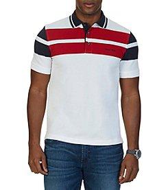 Nautica® Men's Classic Fit Block Stripe Polo Shirt