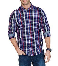 Nautica® Men's Classic Fit Plaid Button Down Shirt