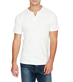 Lucky Brand® Men's Button Notch Short Sleeve Tee