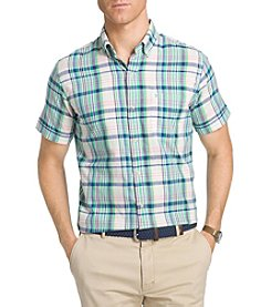Izod® Men's Big & Tall Saltwater Dockside Chambray Button Down