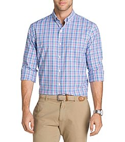 Izod® Men's Big & Tall Saltwater Long Sleeve Woven Shirt