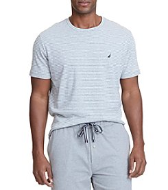 Nautica® Men's Short Sleeve Stripe Crew Tee