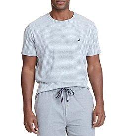 Nautica® Men's Short Sleeve Stripe Crew Tee