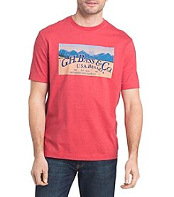 G.H. Bass & Co. Men's USA Brand Graphic Tee