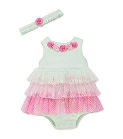 Little Me® Baby Girls' Ambrosia Tier Popover Bodysuit