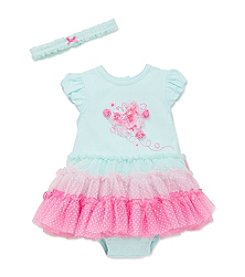 Little Me® Baby Girls' Butterfly Ombre Tutu Dress And Headband