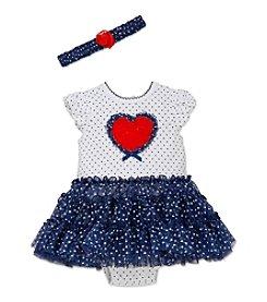 Little Me® Baby Girls' Heart Tutu Popover