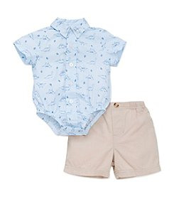 Little Me® Baby Boys Dino Bodysuit And Shorts Set