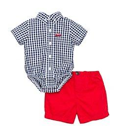 Little Me® Baby Boys Car Bodysut And Shorts Set