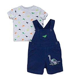 Little Me® Baby Boys Dino Shortalls