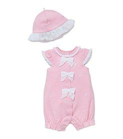 Little Me® Baby Girls' Hearts Romper