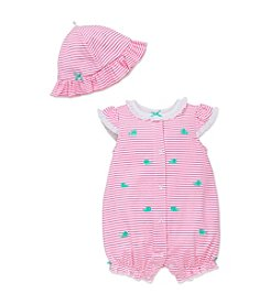 Little Me® Baby Girls' Whales Romper