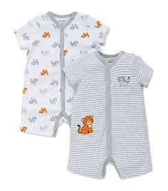 Little Me® Baby Boys Tiger 2-Pack Rompers