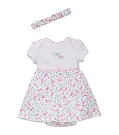 Little Me® Baby Girls' Butterflies Bodysuit Dress