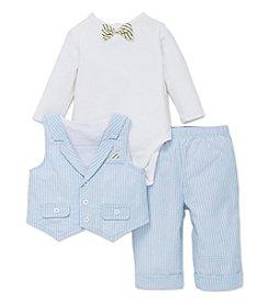Little Me® Baby Boys 3-Piece Vest Set