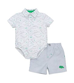 Little Me® Baby Boys' Happy Dinos Shorts Set