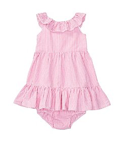 Ralph Lauren® Baby Girls' Ruffle Dress