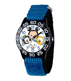 Disney® Mickey Mouse® Goofy, Pluto and Donald Kids' Time Teacher Watch