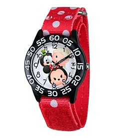 Disney® Minnie Mouse® Goofy & Elsa Kids' Time Teacher Watch