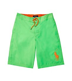 Polo Ralph Lauren® Boys' 8-20 Twill-Sanibel Board Shorts
