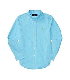 Polo Ralph Lauren® Boys' 8-20 Long Sleeve Button-Down Shirt