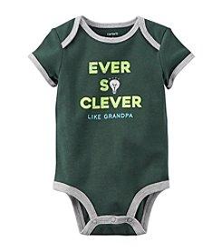 Carter's® Baby Boys Clever Like Grandma Bodysuit
