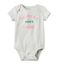 Carter's® Baby Boys Moms The Boss Bodysuit